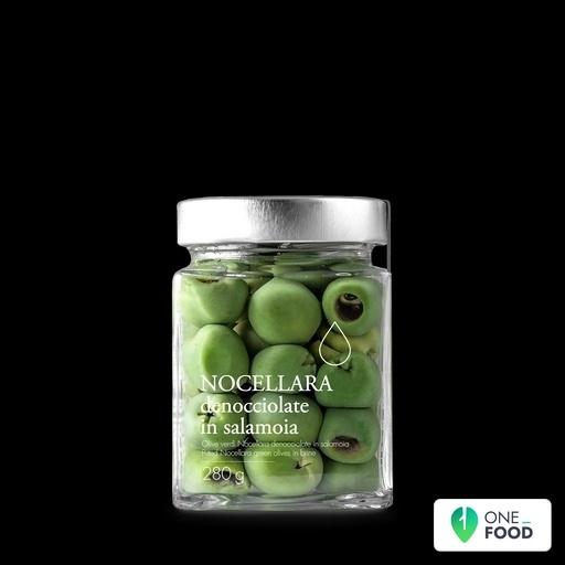 Olive Verdi Nocellara Denocciolate In Salamoia